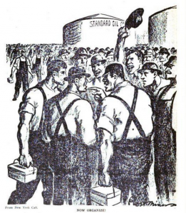 Battle of Bayonne Cartoon