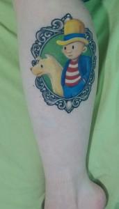 Derby Dugan tattoo