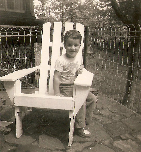 Me on the patio of Eraho Lodge, the summer of 1952 or 1953. Great shoes.