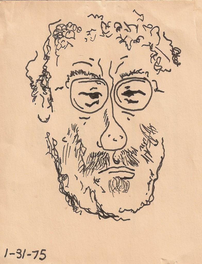 Self Portrait with Broken Capillaries