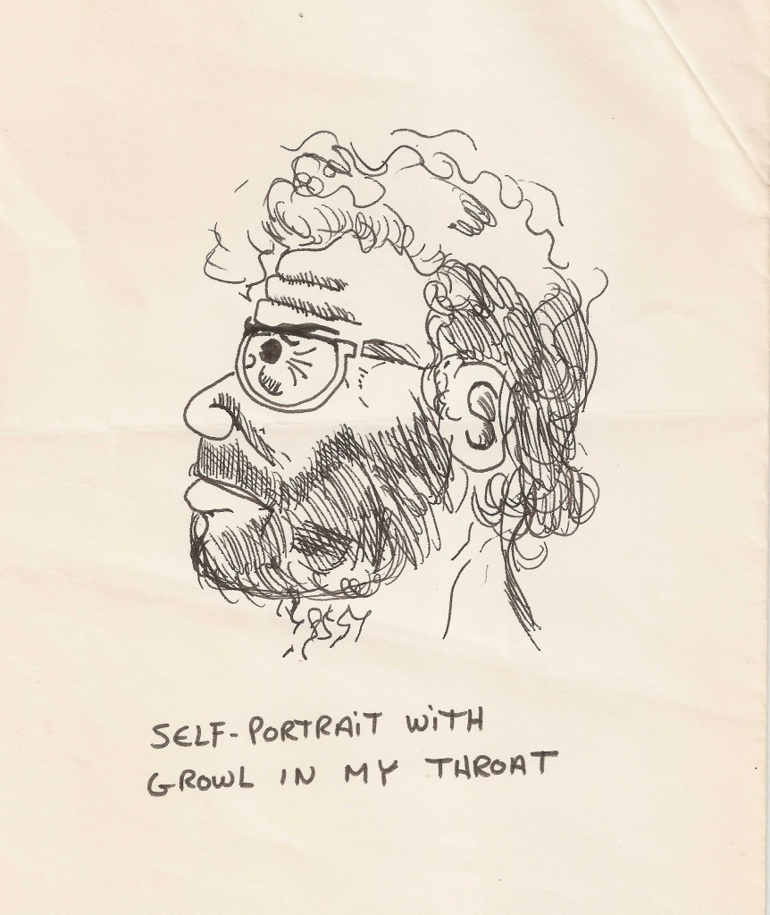 Self Portrait with a Growl in my Throat