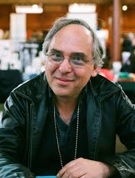 Art Spiegelman, around the time he created the book jacket, frontispiece, and incidental drawings for Derby Dugan's Depression Funnies.